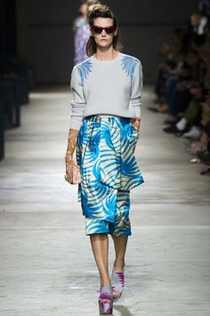 Dries Van Noten Spring 2016 Ready-to-Wear Fashion Show - Sara Blomqvist