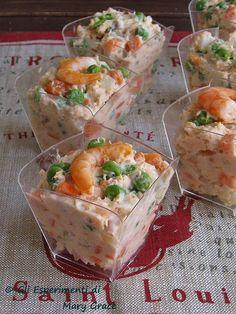 Ruska Salata, Appetizer Recipes, Appetizers, Prawn Cocktail, Fish Salad, Romanian Food, Bon Appetit, Finger Foods, Italian Recipes