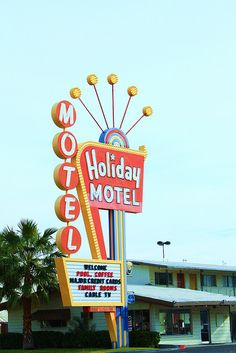 *Las Vegas Nevada....vintage hotel sign