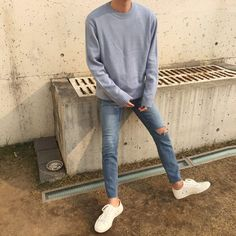 Trendy fashion minimalist man menswear 33 ideas - new site Mode Outfits, Casual Outfits, Men Casual, Fashion Outfits, Summer Outfits, Korean Fashion Men, Trendy Fashion, Mens Fashion, Mens Tumblr Fashion