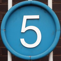 Number 5 by Leo Reynolds (at Museum of Science and Industry, Manchester, England) Cool Numbers, Letters And Numbers, Jouer Au Foot, Give Me Five, Lucky Number, Number Number, Numerology Numbers, Steps To Success, Birthday Numbers