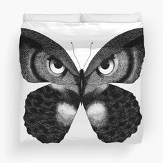 Beautiful Owl Duvet Cover :O – toptrendpin. Navy Duvet, Linen Duvet, Duvet Bedding, Best Duvet Covers, White Duvet Covers, Anthropologie, Beautiful Owl, Duvet Cover Sizes, Animal Tattoos