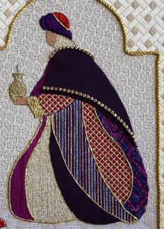 Bea's Stitcheries: The Magi .... completed