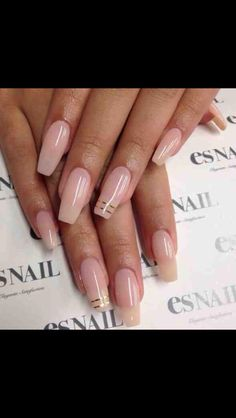 see through nude w/ gold accent lines