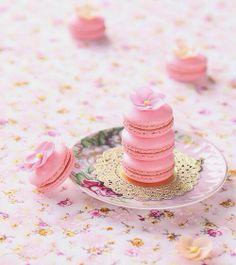 Macarons pink! *-*