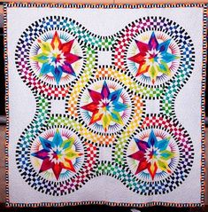 24 Blocks - This is spectacular!  I hope to have the quilting skills to tackle this one day.
