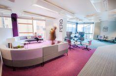 Amarelle Office Interiors // The Planning Inspectorate Bristol #breakout #flexibleworking #modernofficedesign