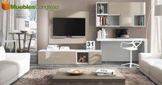 Visite nuestras composiciones de muebles para salones modernos Las Palmas, infórmese de las ofertas en muebles de salón y muebles de co...