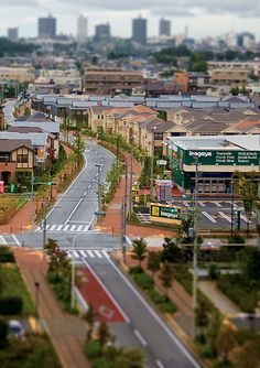 tilt-shift photo~ I so want to try this