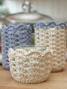 I want to use very small yarn to and this pattern to make cupcake holders!