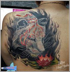 тигр фэнтези лотос tiger fantasi lotus