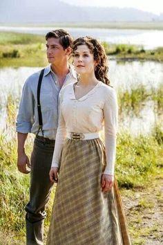 Elizabeth & Jack in Hallmark Channel's WHEN CALLS THE HEART  #WhenCallsTheHeart #Hearties
