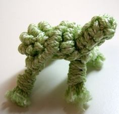 macrame turtle, adorable added to knit slippers