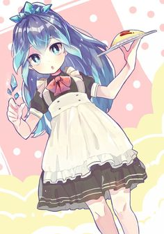 Anime Chibi, Lolis Anime, Blue Anime, Anime Girl Dress, Anime Art Girl, Manga Girl, Chinese Cartoon, Cute Anime Wallpaper, Cute Chibi