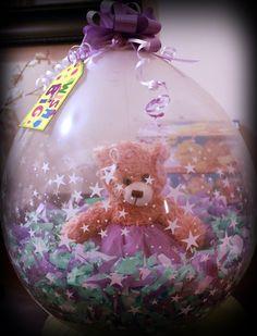 Ballerina Bear Goodluck on your recital Stuffed Balloon.