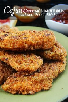 SPICY CAJUN CORNMEAL CHICKEN TENDERS - #chicken #chickentenders #foodporn #Dan330 http://livedan330.com/2015/01/13/spicy-cajun-cornmeal-chicken-tenders/