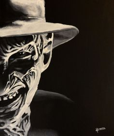 Freddy Krueger  Nightmare on Elm Street  Art by QuietRoomBears, $20.00