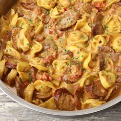 Andouille Sausage Recipes, Cajun Sausage, Sausage Pasta Recipes, Chorizo Recipes, Pork Recipes, Cooking Recipes, Budget Recipes, Yummy Recipes, Recipes