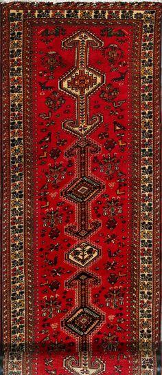 "Abadeh Persian Rug, Buy Handmade Abadeh Persian Rug 3' 7"" x 10' 6"", Authentic Persian Rug"
