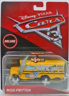 Mattel Disney Pixar CARS 3: Miss Fritter Heavyweight Fun | Take Five a Day