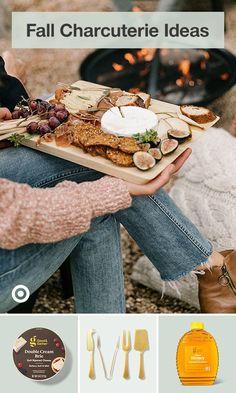 Charcuterie Recipes, Charcuterie Platter, Charcuterie And Cheese Board, Cheese Boards, Fall Recipes, Holiday Recipes, Great Recipes, Favorite Recipes, Appetizer Dips