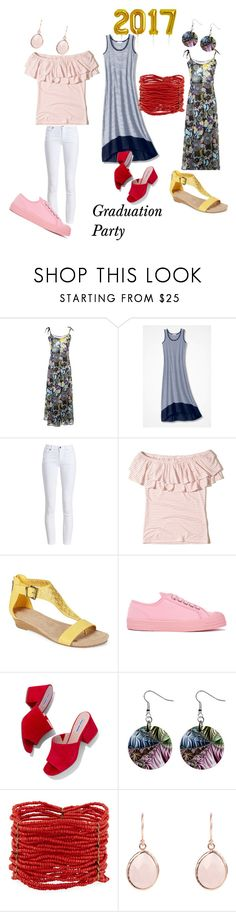 Grad Party by friedlander on Polyvore featuring Hollister Co., Barbour, Kenneth Cole Reaction, Novesta, Steve Madden and Berry