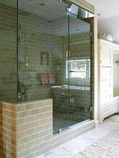 schöne ideen begehbare duschkabine spa gefühl