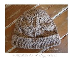 """""""SPEAKING OF CROCHET"""": HAT crochet 4 BRAIDS WITH VIDEO AND GRAPHIC"""