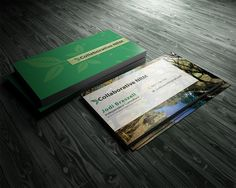 Business Card Design by GraphicSolver for Environmental consulting business card design needed - Design #1423128