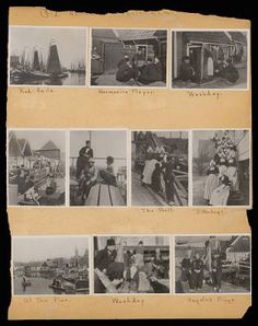 Althea Hurst scrapbook, 1938. Volendam (Netherlands)