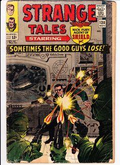 Strange Tales #138 Jack Kirby
