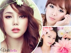 10 Cares that Korean women have to have a perfect skin .- 10 cares that Korean women have for perfect skin – Verte Bella - Homemade Beauty Tips, Eye Makeup Art, Perfect Skin, Makeup Tools, Makeup Ideas, Korean Women, Bella, Pretty Girls, Brows