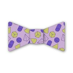 Geometry in Purple Bow Tie