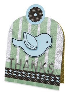 Bird Cage Thank You Card