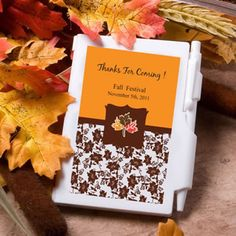 Personalized+NoteBook+Favors+-+Fall