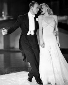 """Fred Astaire and Ginger Rogers. Waltz in Swing Time"""": Described by one critic as """"the finest piece of pure dance music ever written for Astaire"""", this is the most virtuosic partnered romantic duet Astaire ever committed to film"""