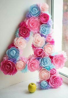 Paper flowers Figures