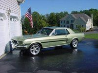 1968 Ford Mustang Base, 68 Mustang GT/CS, exterior