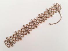 Kalevala Koru Bronze Panel Bracelet Finland by LifeUpNorth Handmade Silver, Handmade Items, Ceramic Pendant, Bangles, Bracelets, Bracelet Designs, Bracelet Making, Finland, Silver Jewelry