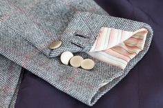 Egon Brandstetter Bespoke Tailor, Berlin   #Buttonholes and #sleeve #lining   #Bespoke #Tailoring #Suit #Handmade