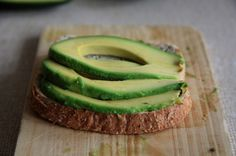 Avocado on toast - packed with folate and fibre this makes a fantastic quick snack or lunch.