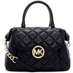 MICHAEL Michael Kors Large Fulton Quilted Leather Satchel Bag