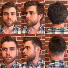 Alec was in search of a more professional look! This end result was exactly what he needed.  Make your reservation with Eli today for your freshened up men's cut at 816-605-1949 or visit http://www.theglamroomkc.com