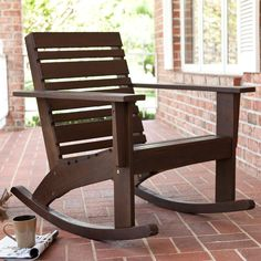 Hudson Rocking Chair   Outdoor Rocking Chairs At Rocking Chairs   2 For  Front Porch,
