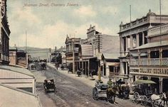 Mosman St,Charters Towers circa 1900.