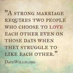 A strong marriage by maricela