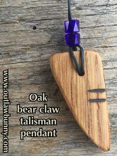 My Bear Claw Talisman Helps Me Speak My Truth | Outlaw Bunny