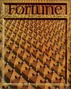 Antonio Petruccelli - Cover of Fortune magazine May 1941
