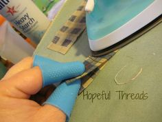 Thermal Thimbles - an essential sewing need from Hopeful Threads