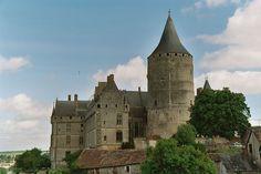 Château de Châteaudun, 28200 Châteaudun, Eure-et-Loir, Région Centre - Château France